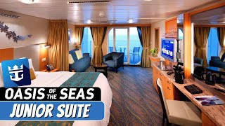 Royal Caribbean Oasis Of The Seas Junior Suite Complete Walkthrough Tour Review 4k Youtube