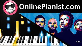 Coldplay - Adventure of a Lifetime - Piano Tutorial - How to Play