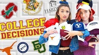 COLLEGE DECISION 2018! Are We Going to the SAME School?!? thumbnail
