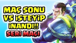 DARİUS BUFF FENA SERİ MAÇI DAHA FENA !!! MAÇ SONU VS İSTEYİP İNANDI !!! | Apophis
