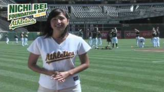 Nichi Bei Foundation Day with the Oakland Athletics, 日米 Foundation