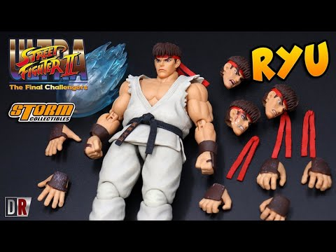 RYU Storm Collectibles Street Fighter 2 Review BR / DiegoHDM