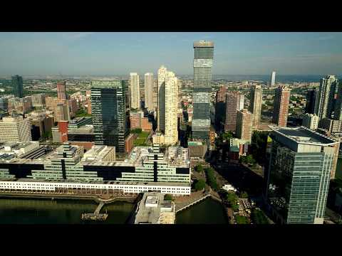 Jersey City Waterfront via drone