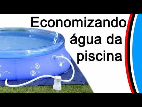Como limpar a piscina inflavel