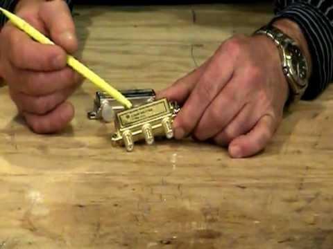 CATV Splitter 101 - YouTube