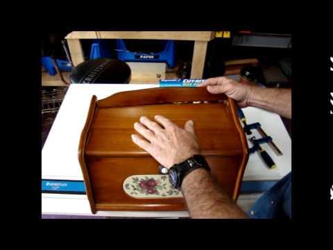 wood bread box repair episode 10