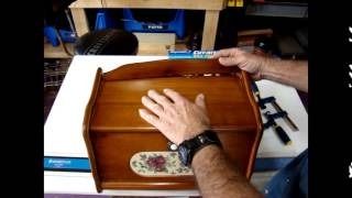 Wood Bread Box Repair Episode 10