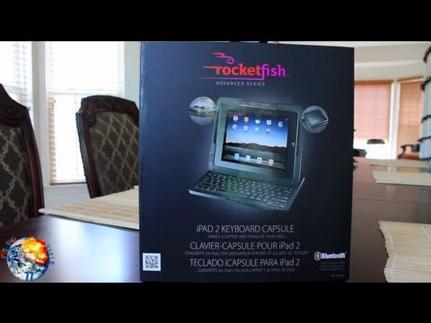 RocketFish Advanced Series Keyboard Capsule For New IPad & IPad 2