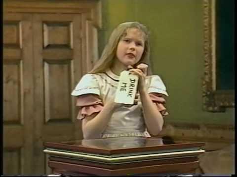 Alice in Wonderland (1985, Anglia Television) -- Episode 1