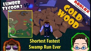 Roblox - Lumber Tycoon 2 - The FASTEST Golden Path I have found