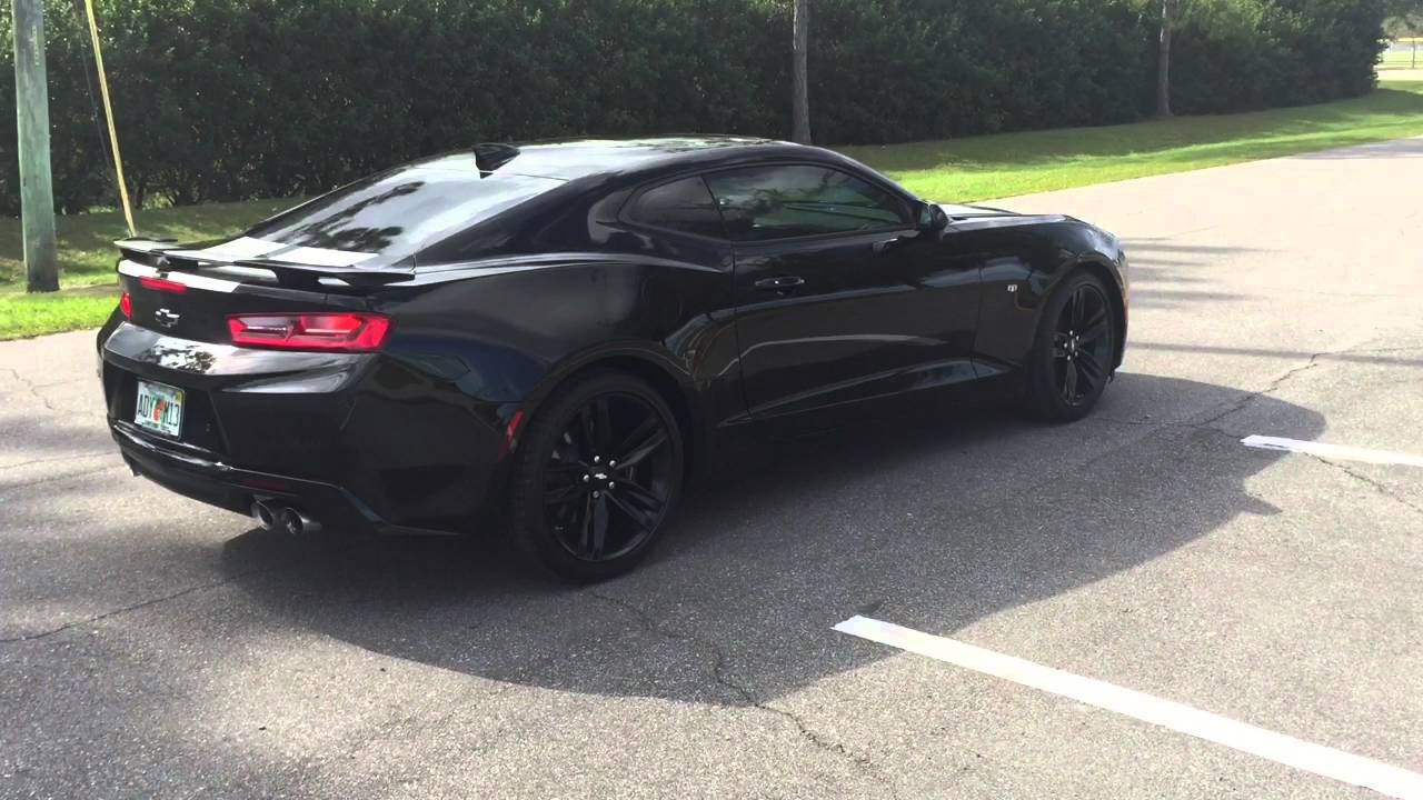 2016 camaro ss 2ss exhaust sound youtube