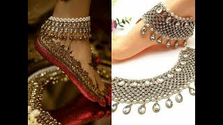New Collection Of Bridal Anklets / Bridal Jewellery Design/ Beautiful Payal/Leg Chain