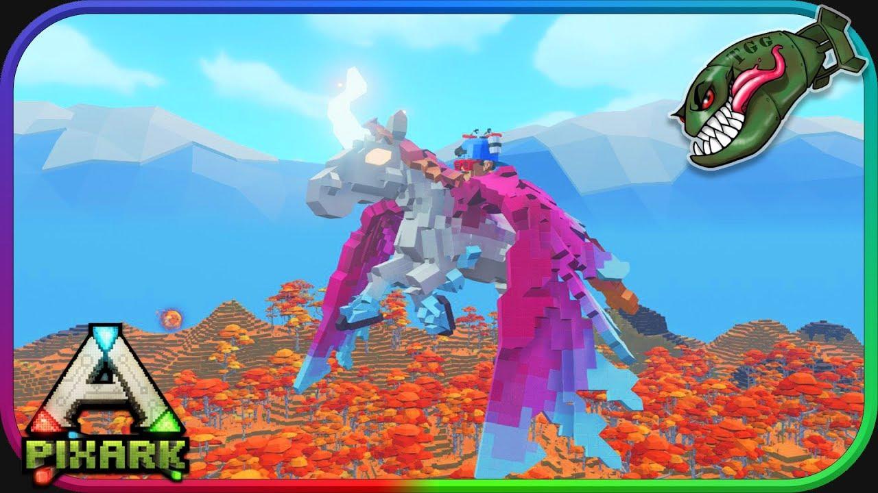 PixArk   Taming Fungal Beast and Pegasis #8 (PixArk 1 0 Gameplay)