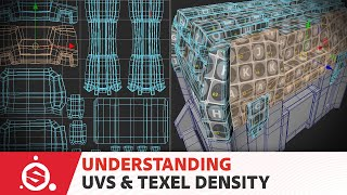 Substance Painter Tutorial – Model Preparation 01: UV Mapping and Texel Density