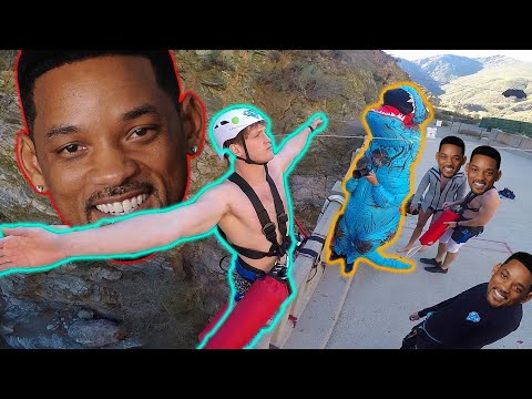 CHALLENGING WILL SMITH TO GO BUNGEE JUMPING!