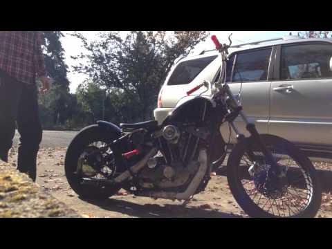 Harley Ironhead Kickstart