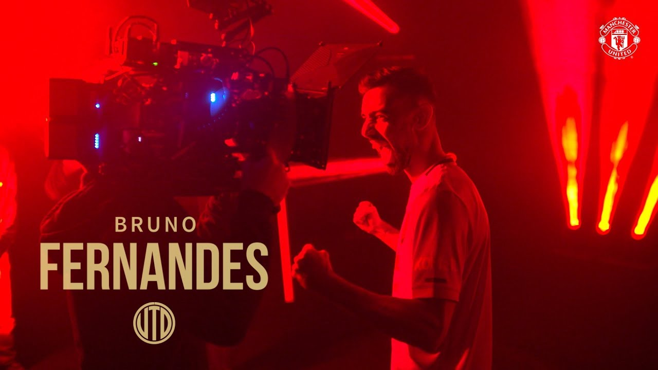 Bruno's First Day! | Welcome Bruno Fernandes | Manchester United