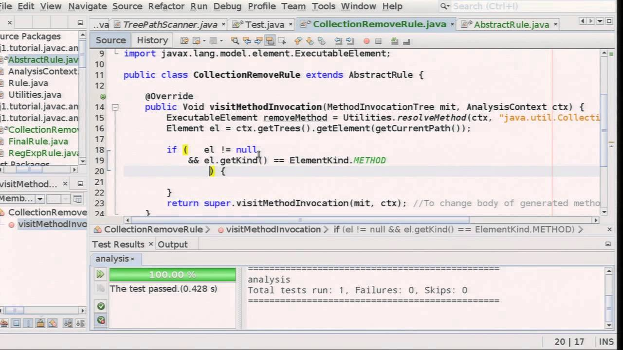 Code Inspection with the javac