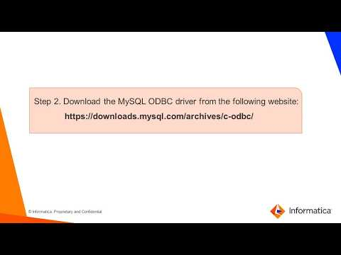 Installing JDBC and ODBC Drivers for MySQL Connector on