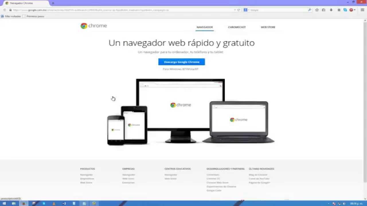 Chrome for Desktop - google.com