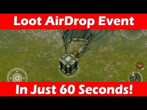 How To Loot AirDrop Event (Humanitarian Aid) In 60 Seconds! Last Day On Earth
