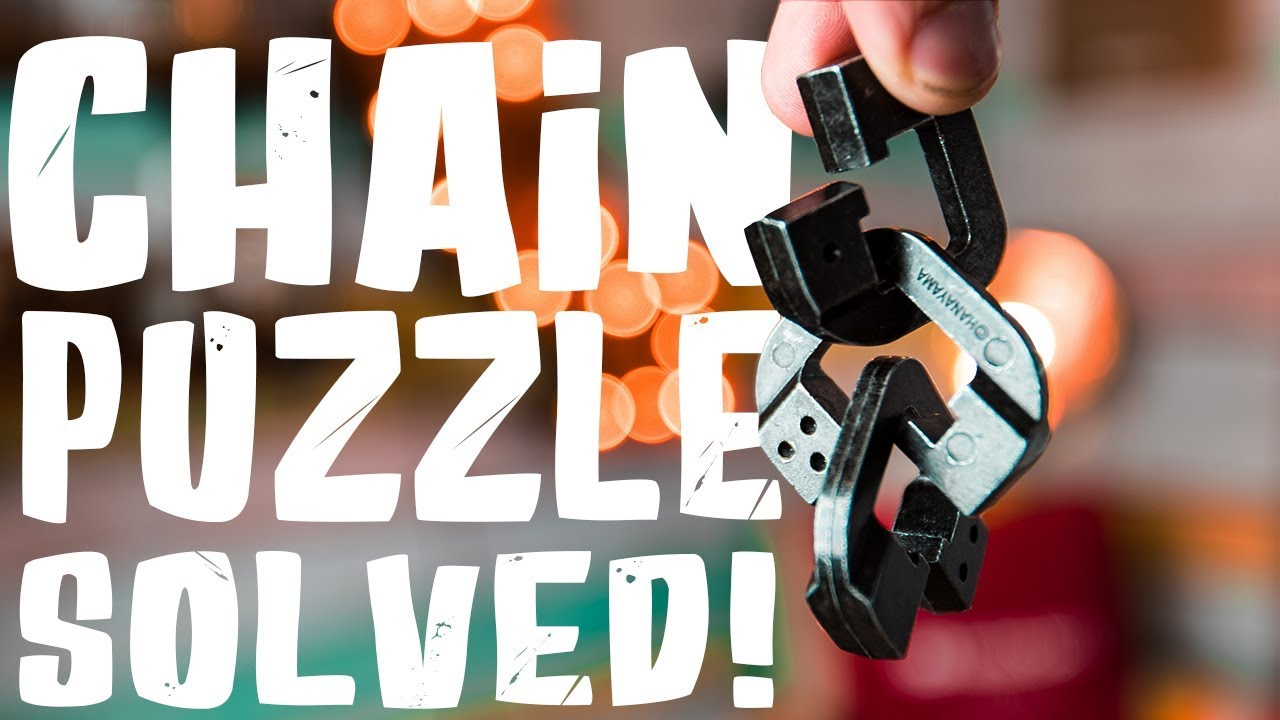 Solving The Chain Linked Puzzle Level 10 Youtube