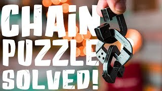 Solving The CHAIN LINKED Puzzle - Level 10!