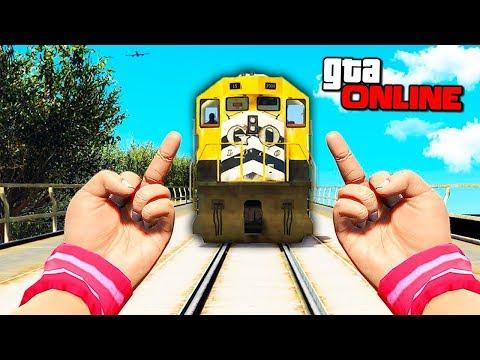 GTA 5 Online (Deathrun) - Смертельный рывок! - Видео