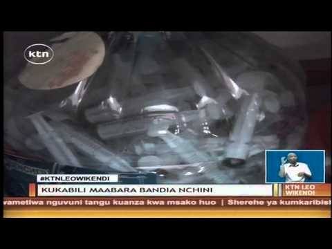 KTN Leo Full Bulletin 6th September 2014 (Raila Ababu truce, Pharmacy and poisons board raid)