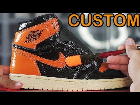 Custom AIR JORDAN 1's! 🎨🎨