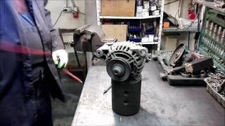Ремонт генератора МАН грузовой автомобиль