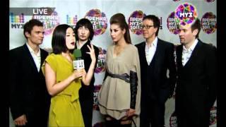 Премия МУЗ-ТВ 2011. A'STUDIO - прямое включение с Азией