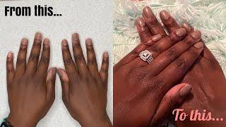 HOW TO: DIP POWDER On Short Natural Nails | Naomi Onlae