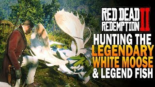 Hunting The Legendary Moose & Legendary Fishing! Red Dead Redemption 2 Legendary Animals [RDR2]
