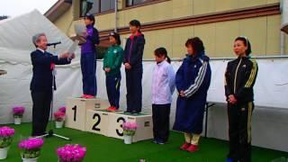 第66回鹿島祐徳ロードレース女子表彰式