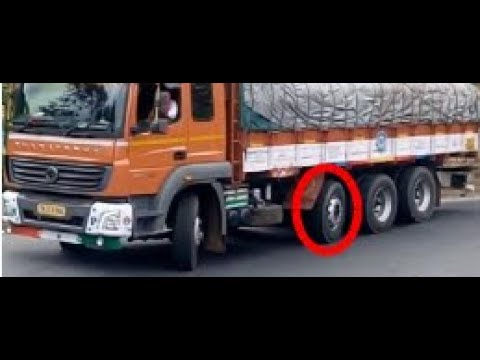 Steer Pressure Tilt Close Shotable Pusher Axle Clearly Visible With Tandem Axle