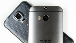 HTC One (M8) vs. Samsung Galaxy S5