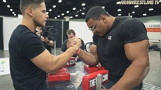 ARM WRESTLING vs WORLDS STRONGEST BODYBUILDER