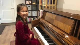 Kaitlyn Schwaller recital spring 2021