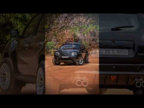 Renault Duster modified in India