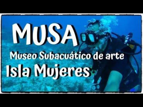 BUCEANDO EN EL MUSA ISLA MUJERES QUINTANA ROO MÉXICO