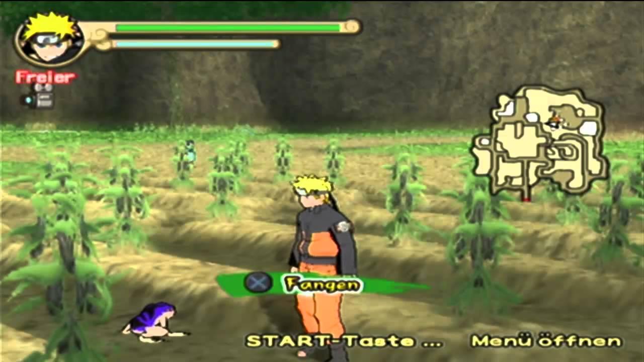 Let\'s Play Naruto Shippuden Ultimate Ninja 4 part 37- Frosch(Kröte ...