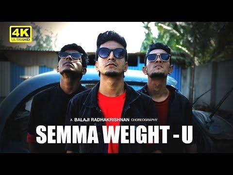 Semma Weightu - Dance Cover   Choreographed & Performed By Balaji Radhakrishnan   Kaala