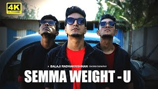 Semma Weightu - Dance Cover | Choreographed & Performed by Balaji Radhakrishnan | Kaala
