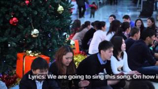 Youth flashmob to advance SRHR bill in Kyrgyzstan