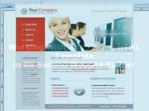 How To Import An HTML Template Into 90 Second Website Builder