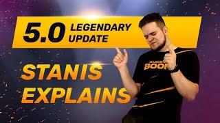 Legendary 🕺Update 5.0 🕺 - Sneak Peek with Stanis Stream - Guns of Boom