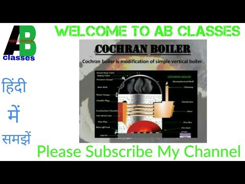 (IN HINDI) Cochran Boiler Construction and Working in Hindi-AB CLASSES,Thermodynamics
