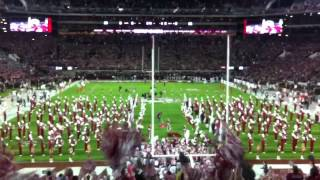Alabama vs Mississippi State 2012 Entrance Bryant–Denny Stadium. SEC