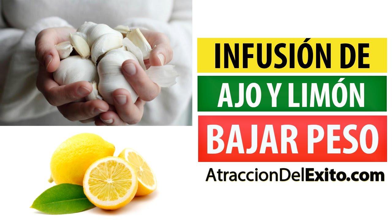 Como preparar el ajo y el limon para adelgazar
